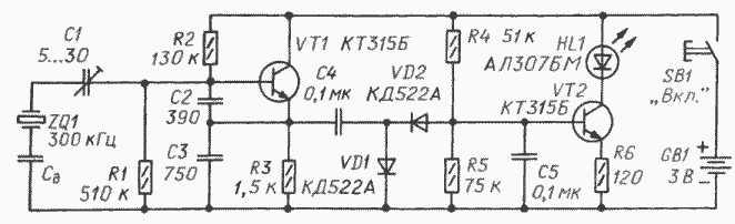 Рис.3 Схема прибора для